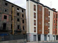 Comparativa de edificio sin rehabilitar y rehabilitado #rehabilitacionenergetica