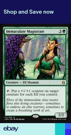Green m10 Magic 2010 Mtg Magic Rare 1x x1 1 PLAYED Elvish Piper