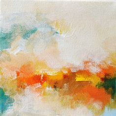 Autumn  ORIGINAL abstract painting / Abstract by PrismaticArt, $45.00