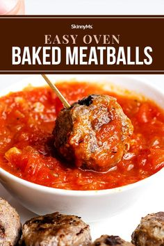 These mouthwatering meatballs are a snap to whip up.