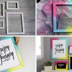Brighten Up Your Decor With This Easy DIY For A Colorful Gradient Gallery Wall