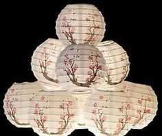 Oriental Japanese Chinese Paper Lantern Sakura ml-21