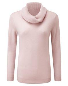 Cashmere Cowl Neck Sweater