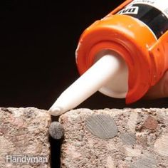 How To Caulk Concrete. For Long Lasting Concrete Crack Repair, Fill Wide Cracks With Foam Backer Rod Before Caulking. And Use A Caulk Formulated For Concrete. Source by uweeckh Garage Floor Resurfacing, Concrete Resurfacing, Caulking Tips, Driveway Repair, Sidewalk Repair, Asphalt Driveway, Concrete Projects, Diy Concrete, Concrete Caulk