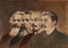 Karol Marx, Fridrich Engels, Vladimir Lenin, Jozef Stalin fathers of communism!