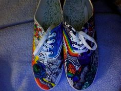My colorful shoes by OnllyOne.deviantart.com on @deviantART