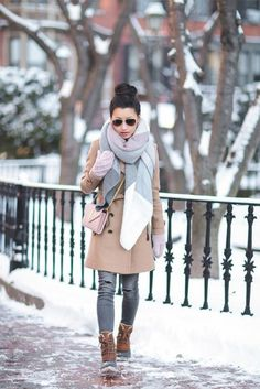 A winter coat is one of the key components of your winter wardrobe. It can be both practical and stylish.