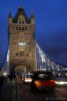 Tower Bridge ,London From my own Amazing view - Alvin Pastrana Beautiful Places In The World, What A Wonderful World, Oh The Places You'll Go, Amazing Places, Old Bridges, Places In England, Tower Bridge London, Countries To Visit, Beautiful Architecture