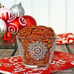 Sweet and Spicy Pecans | Joy. Love. Food.com