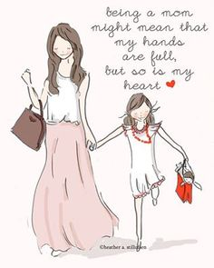 being a mom. - Rose Hill Designs: Heather Stillufsen ♥ ℳ ♥ Mother Daughter Quotes, I Love My Daughter, My Beautiful Daughter, My Love, Mother Mother, Gorgeous Girl, Mother Quotes, My Little Girl, My Baby Girl