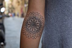 #mandala #tattoo by Jorge Teran