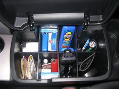 Stacy's Toyota Tacoma TRD Sport 2013 has this - Center Console Organizer for Toyota Tacoma '05 '13 | eBay