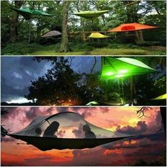 Tensile, the portable tree house