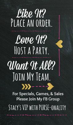 join my VIP group to learn about specials, contest, and all things 31 <3