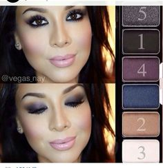 Smokey shadow palette by nyx cosmetics