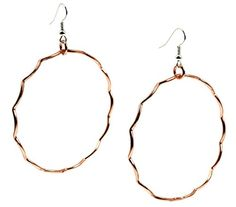Large Corrugated Copper Hoop Earrings - 2 1/4 Inch Diamet... http://www.amazon.com/dp/B01GBW87S2/ref=cm_sw_r_pi_dp_tA4sxb1YZ6CXF