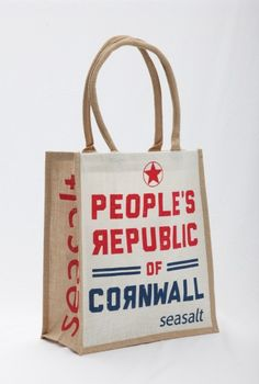 Jute Shopper from the SeaSalt shop in Falmouth.