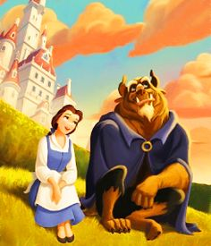 <3 my whole room was beauty and the beast when i was little.
