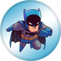 Chibi Batman by Derek Laufman - Batman Poster - Trending Batman Poster. - Chibi Batman by Derek Laufman Marvel Dc Comics, Chibi Marvel, Batman Chibi, Batman Cartoon, Chibi Superhero, Deadpool Chibi, Flash Comics, Im Batman, Batman Art