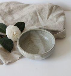 Vintage Handmade Ceramic Pottery Bowl by WildPoppyGoods on Etsy