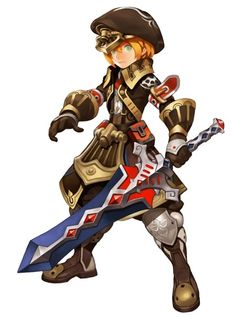 dragonnest | male fighter knight cavalier magus