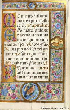 Book of Hours, MS M.187 fol. 61r - Images from Medieval and Renaissance Manuscripts - The Morgan Library & Museum