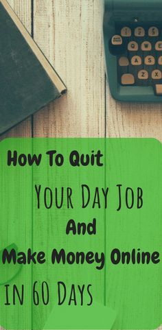 Learn how to quit your job and make money online in 60 days by doing one simple action. This one thing gave me financial freedom.How To Quit Your Day Job And Make Money Online Work From Home Jobs, Make Money From Home, Way To Make Money, How To Make, Earn Money Online, Make Money Blogging, Online Jobs, Gta Online, Saving Money