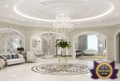 Luxury ceilings Design from Luxury Antonovich Design has a special meaning to create a certain atmosphere in the interior. House Design, Fireplace Design, Luxury Home Decor, Luxury Ceiling Design, Luxury Living Room, Luxury Decor, Ceiling Design, Luxury Mansions Interior, Luxury Homes