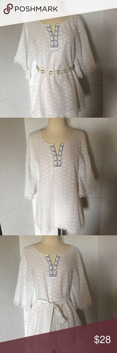 Beige by ECI. Size S One tunic, few ways to wear . NWOT Beige by Eci Tops Tunics