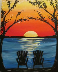The Paint and Sip Experience - Patriot Place, MA Wine Painting, Painting & Drawing, Art Plage, Wine And Canvas, Paint And Sip, Easy Paintings, Learn To Paint, Pictures To Paint, Acrylic Art