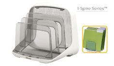 Clasificador de archivos I-Spire de tres compartimentos