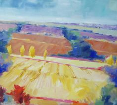 Tuscan Vista by Rob Williams Oil ~ 36 in x 40 in