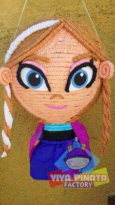 Siempre mejorando nuestros modelos y para muestra a qui esta nuestra nueva Anna de Frozen.... Les gusta?