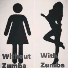 With & Without Zumba