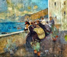 Attilio Pratella   Landscape/Genre painter
