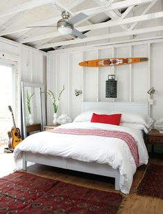 Beach bedroom -Samantha Sacks