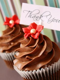 Say thank you with #cupcakes!