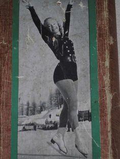 Alte Schlittschuhe Gloria vintage iceskates 60er
