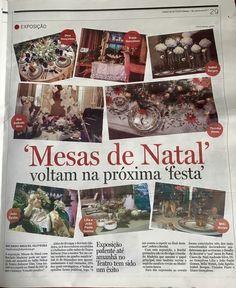 """Exposição da Bordal """"Mesas de Natal com Bordado Madeira"""" no Diário de Notícias!!  #bordal #diariodenoticias #mesasdenatalcombordadomadeira #teatromunicipalbaltazardias"""
