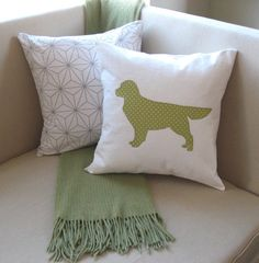Hey, I found this really awesome Etsy listing at https://www.etsy.com/listing/119871707/golden-retriever-pillow-cover-applique