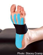 Taping for 3 Common Running Injuries: IT Band, Shin Splints, and Plantar Fasciitis