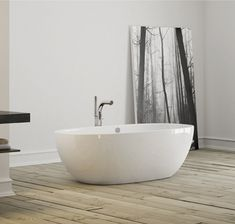 The gorgeous Barcelona bath from Victoria and Albert is deep and curvaceous. Its generous dimensions linked to ergonomic backrests. It features an ultra-contemporary freestanding design carved from a single casting of rare volcanic limestone and resin and boasts an easy to clean high-gloss finish. An added bonus is the flexibility to paint or stencil the exterior of the bath for a truly personalised showpiece for your bathroom renovation @Victoria + Albert