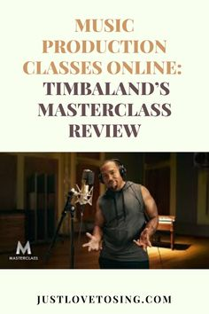 A vocalist sings because there's a song to be sung. Here's how Timbaland not only demonstrates how you can make your songs come to life in the production process. Keep reading below. #JustLovetoSing #Timbaland #OnlineCourse #Blog Singing Lessons Online, Music Courses, Music Studio Room, Vocal Coach, Primary Music, Piece Of Music, Types Of Music, Hit Songs, Christina Aguilera