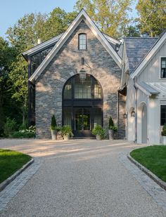 French-country style home