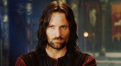 Aragorn, Viggo Mortensen, in Meduseld, Lord of the Rings LOTR