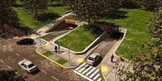 Playas de estacionamiento subterráneas « Estacioná en la ciudad