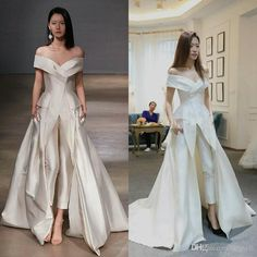I found some amazing stuff, open it to learn more! Don't wait:https://m.dhgate.com/product/women-dresses-jumpsuit-with-long-train-white/404737806.html