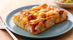 Serve a crowd-size fiesta of flavors with a quick-to-fix salsa and chicken bake.