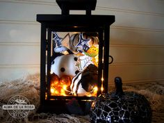 Halloween Lantern & Cloche - The Cat's Pajamas PaperArts