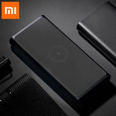Xiaomi Wireless Power bank 10000mAh PLM11ZM USB Type C Mi Powerbank 10000 Qi Fast Wireless Charger Portable Charging Poverbank 10000mAh (3.7V, 37W), real output at 6000mAh (5V,3A) Max 10W Qi Wireless Charging, and 7.5W Max for iPhone Wireless Charging Support to Charger 3 device at the same time, Wireless Charging+ USB-C Output + USB-A Output To fast charge the power bank, please buy the SKU add 18W USB Charger Good Grips, Smart Home, Charger, Usb, Phone Cases, Type, Iphone, Smart House, Phone Case